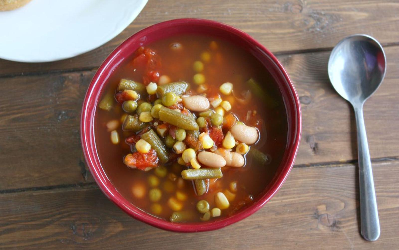 Classic Vegetable Soup [Vegan, Gluten-Free]