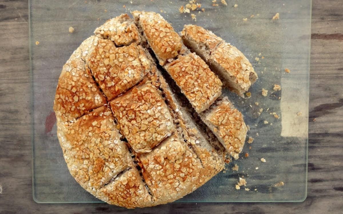 Crusty Whole Grain Bread