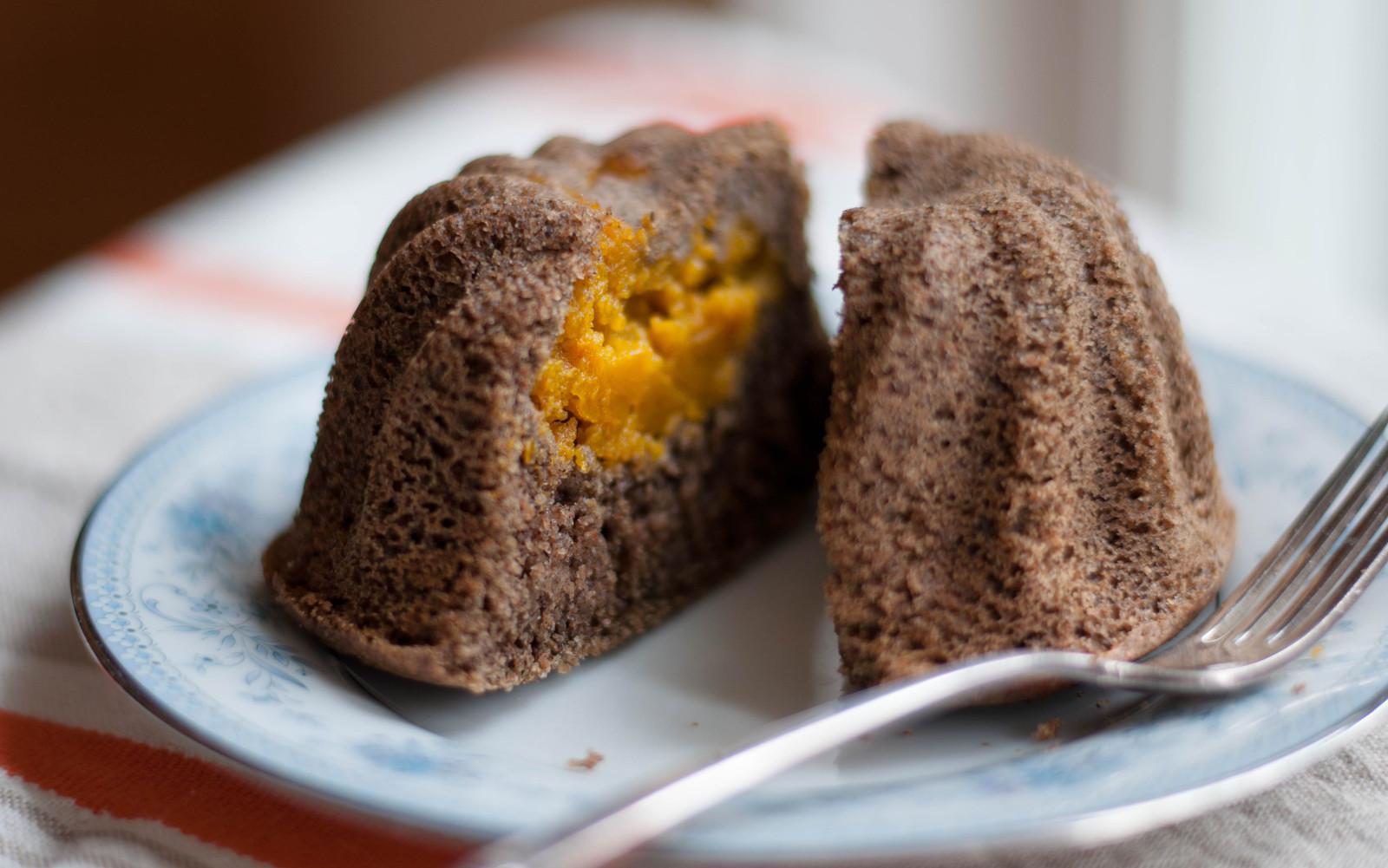 Buttercup Squash Spice Cakes [Vegan]