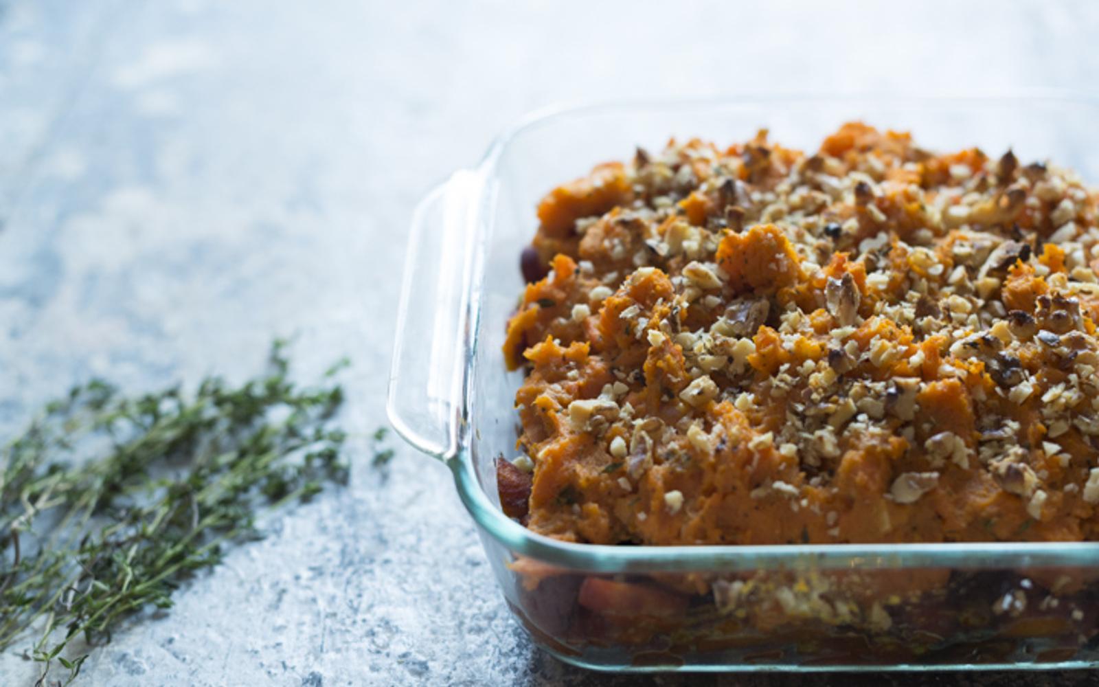 Sweet Potato and Root Veggie Shepherd's Pie