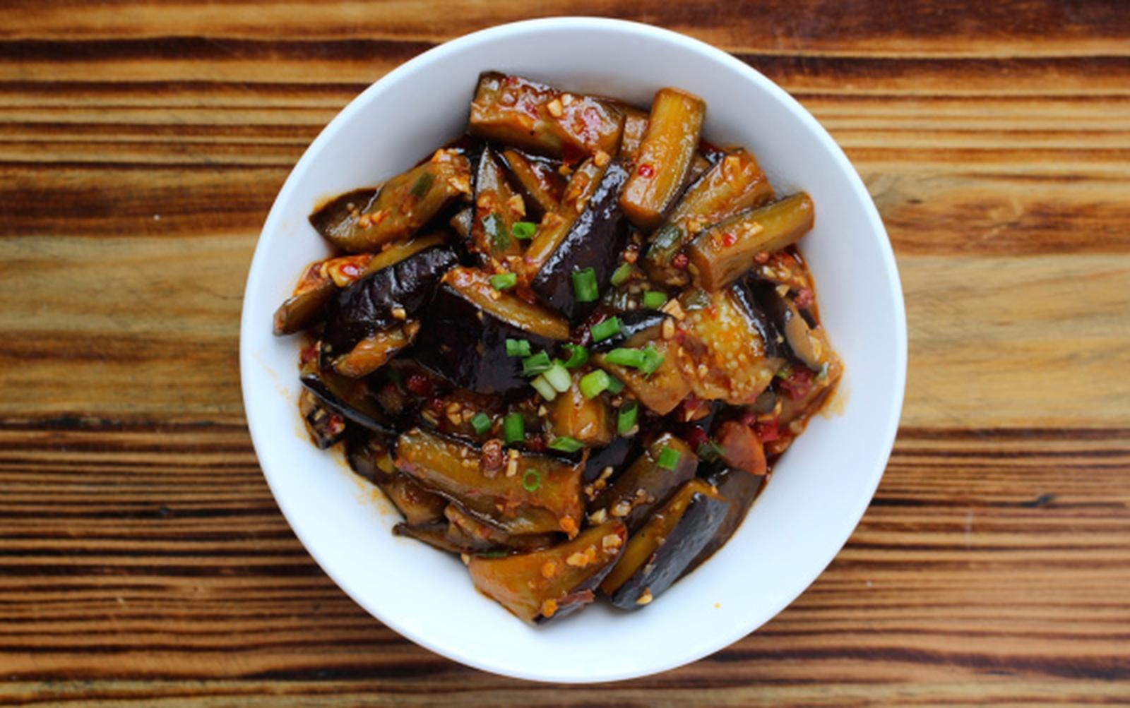 Vegan Fish-Flavored Eggplant [Gluten-Free]