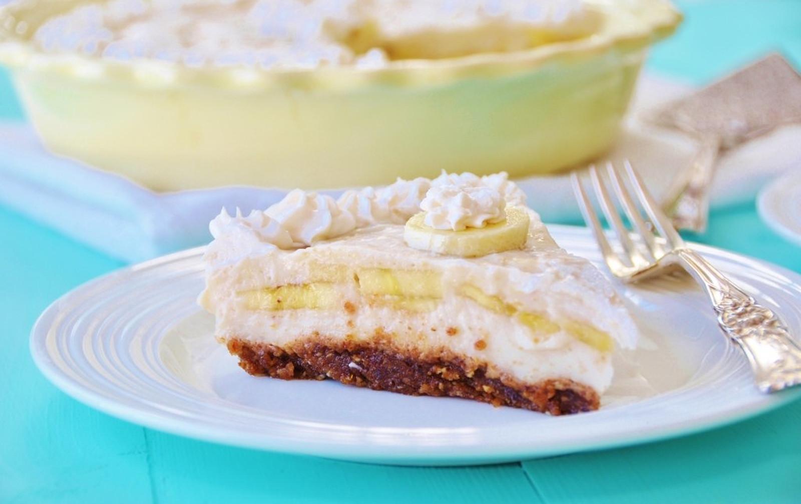 The Best Banana Cream Pie Ever [Vegan, Gluten-Free]