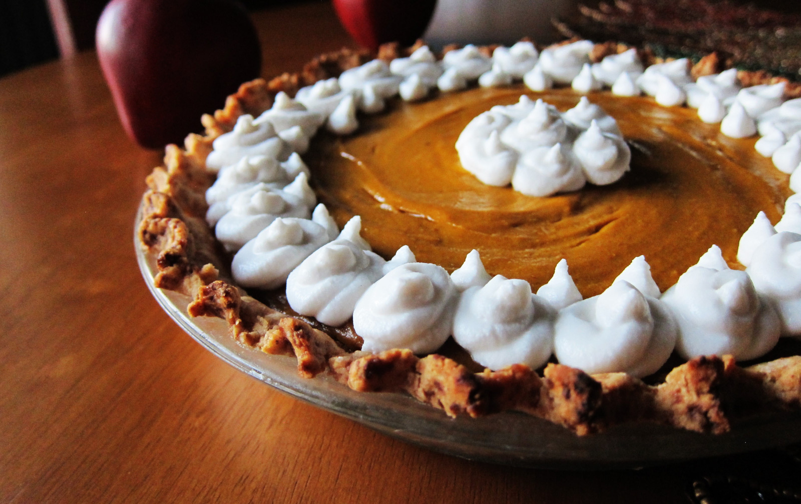 Butternut Squash Apple Pie