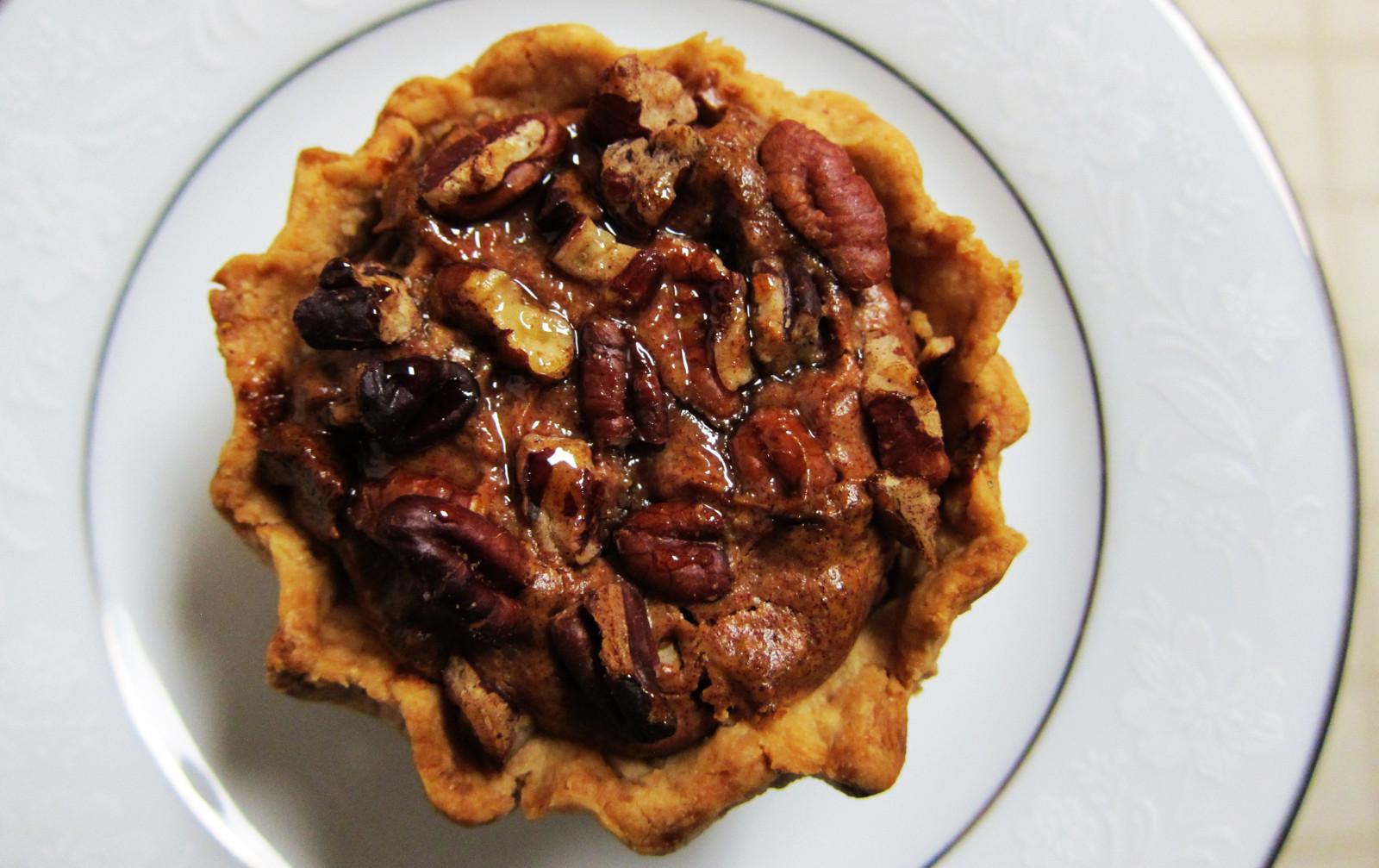Perfect Mini Pecan Pies [Vegan]