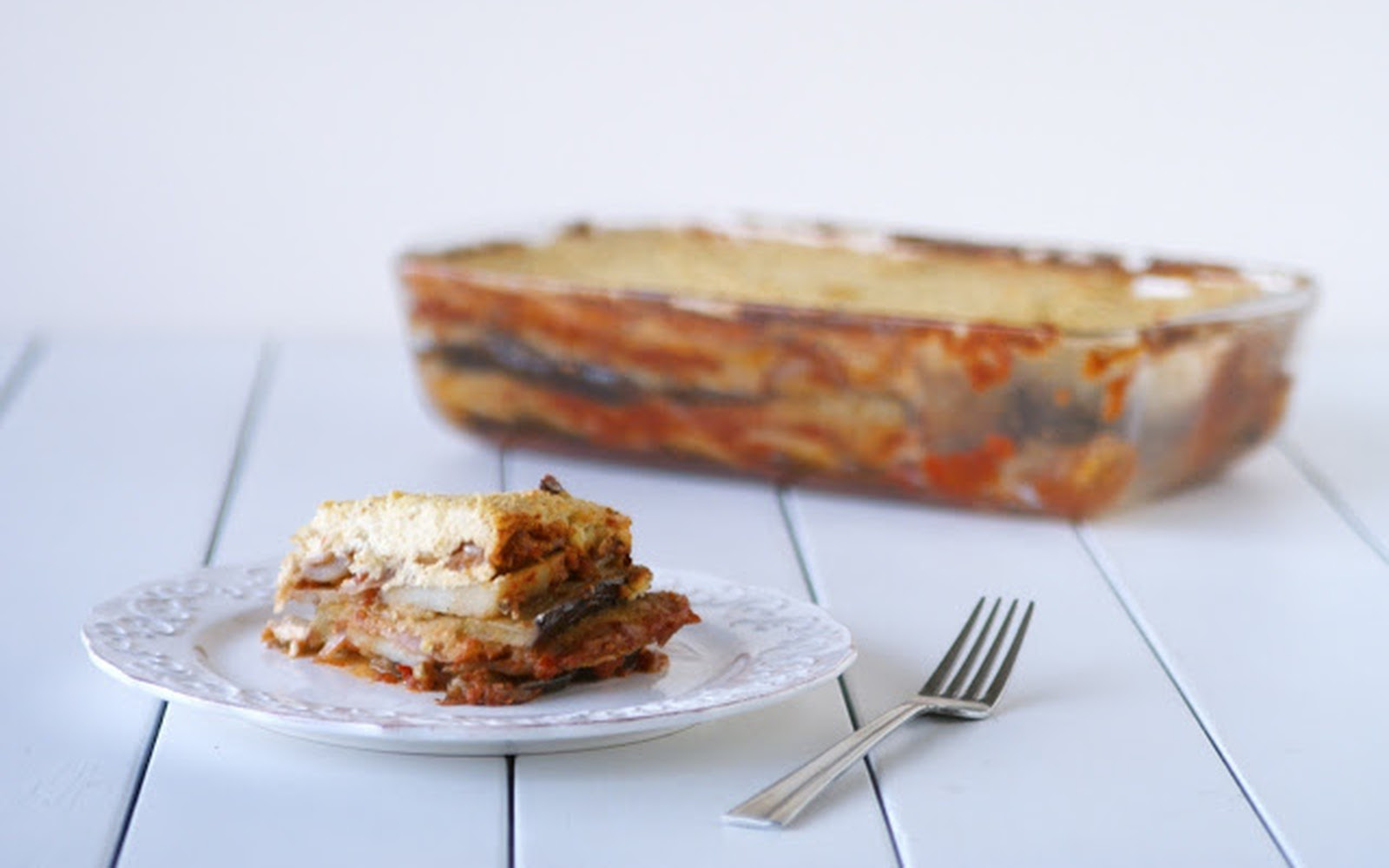 Vegan Moussaka With Cashew Cream [Vegan]