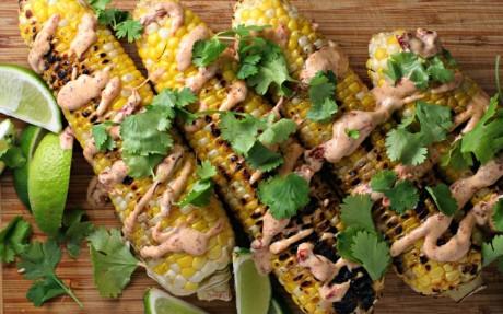 Hot n' Spicy Vegan Mexican Street Corn [Gluten-Free]