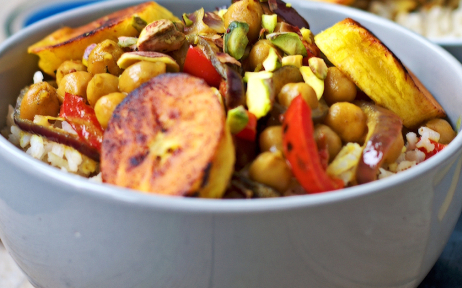 Vegetable Curry With Plantains
