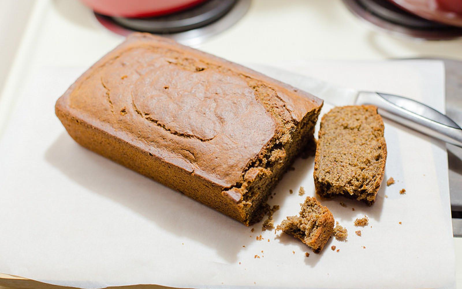 Black Tea Cardamom Cake