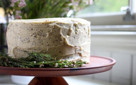 Brown Butter Cardamom Cake With Chai Buttercream Frosting