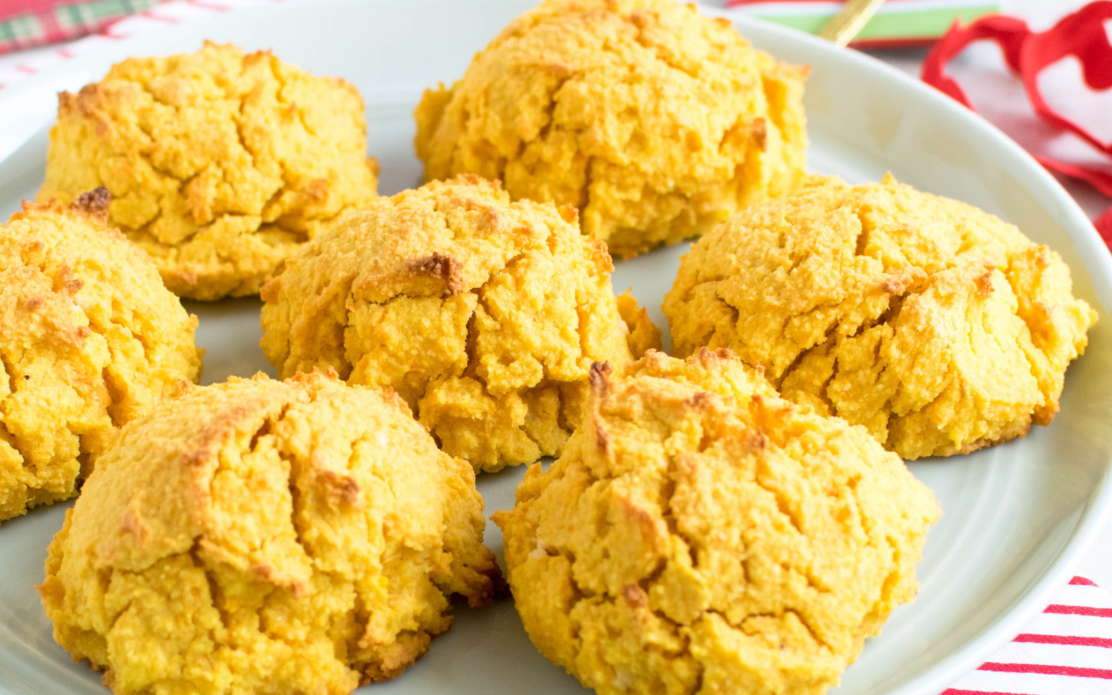 Carrot, Sweet Potato, and Almond Cookies
