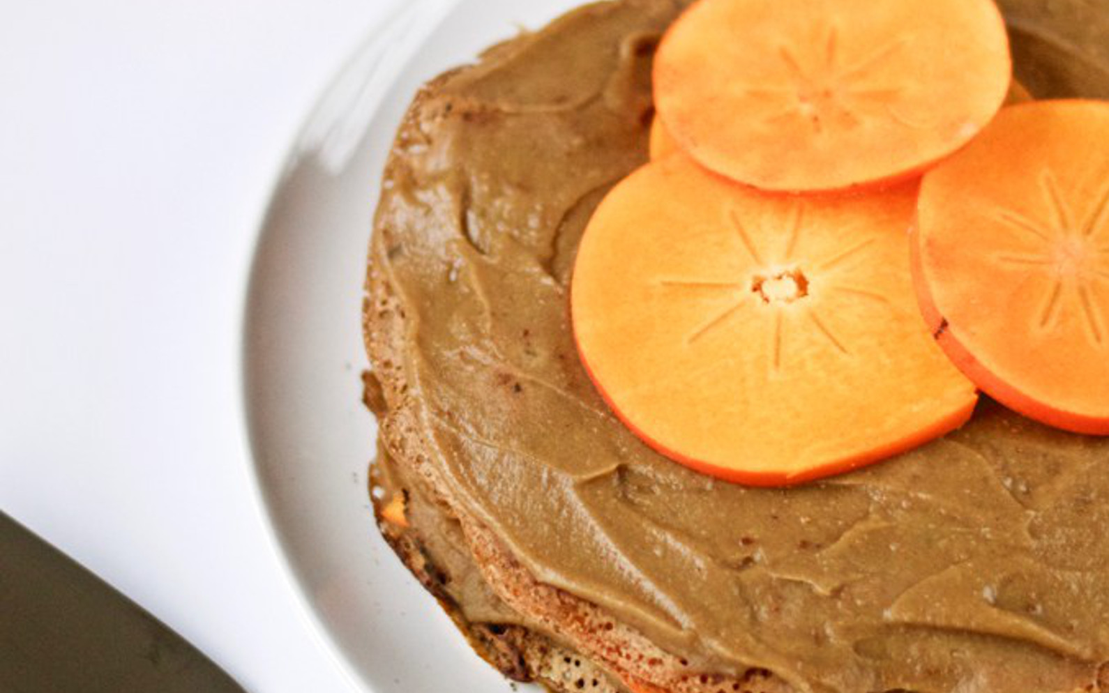 Chestnut Persimmon Crepes