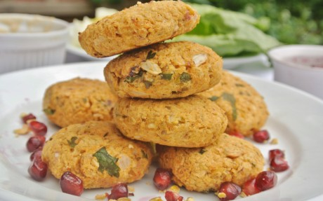 Chickpea and Pistachio Falafel