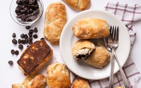 Chocolate-Filled Croissants