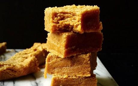Maple Peanut Butter Blondies