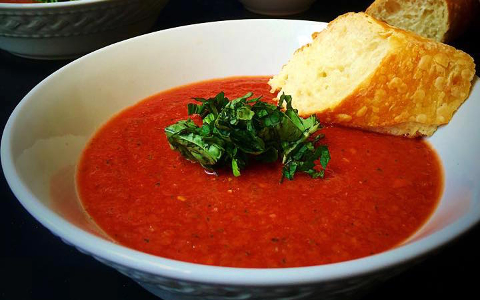 10 Minute Gazpacho With Fresh Herbs