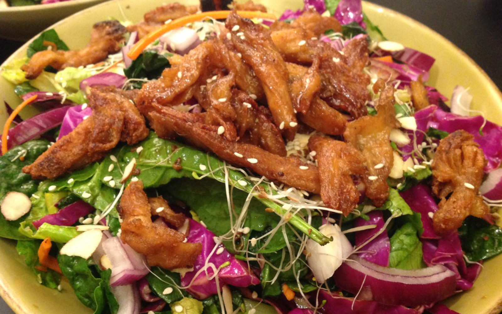 Asian Soy Curl Salad
