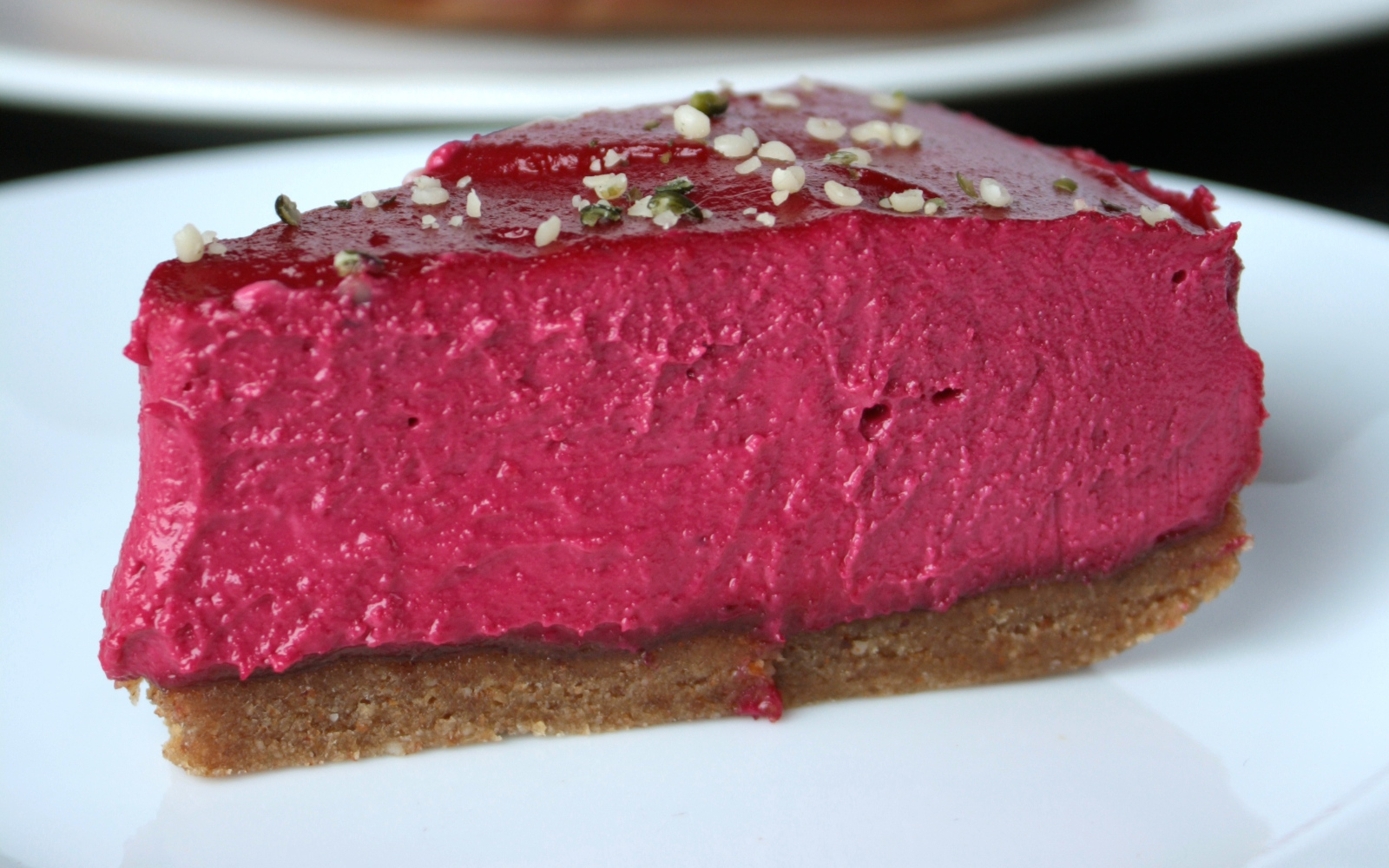 No-Bake Crimson Velvet Cheesecake