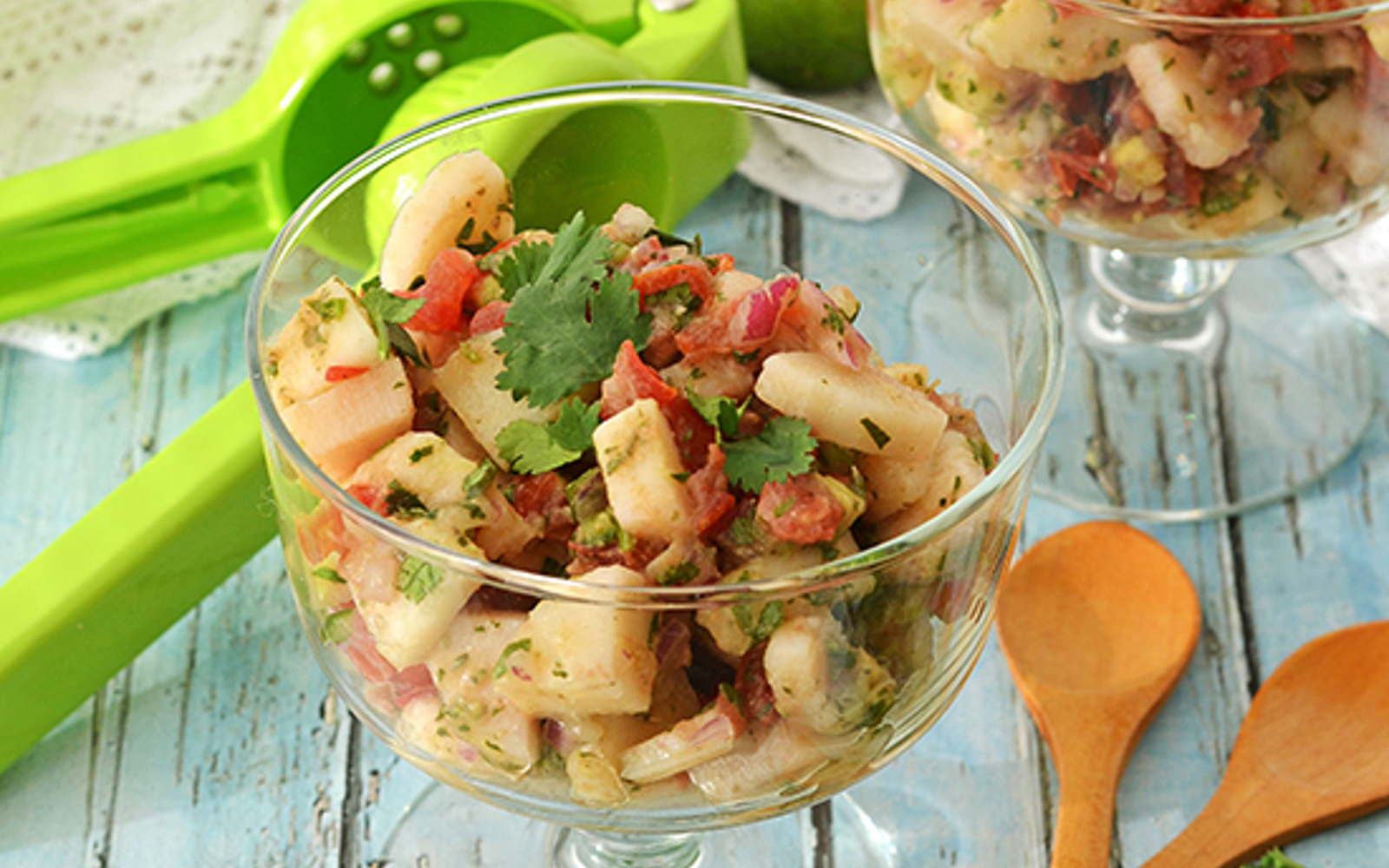 Spicy Mexican Hearts of Palm Ceviche