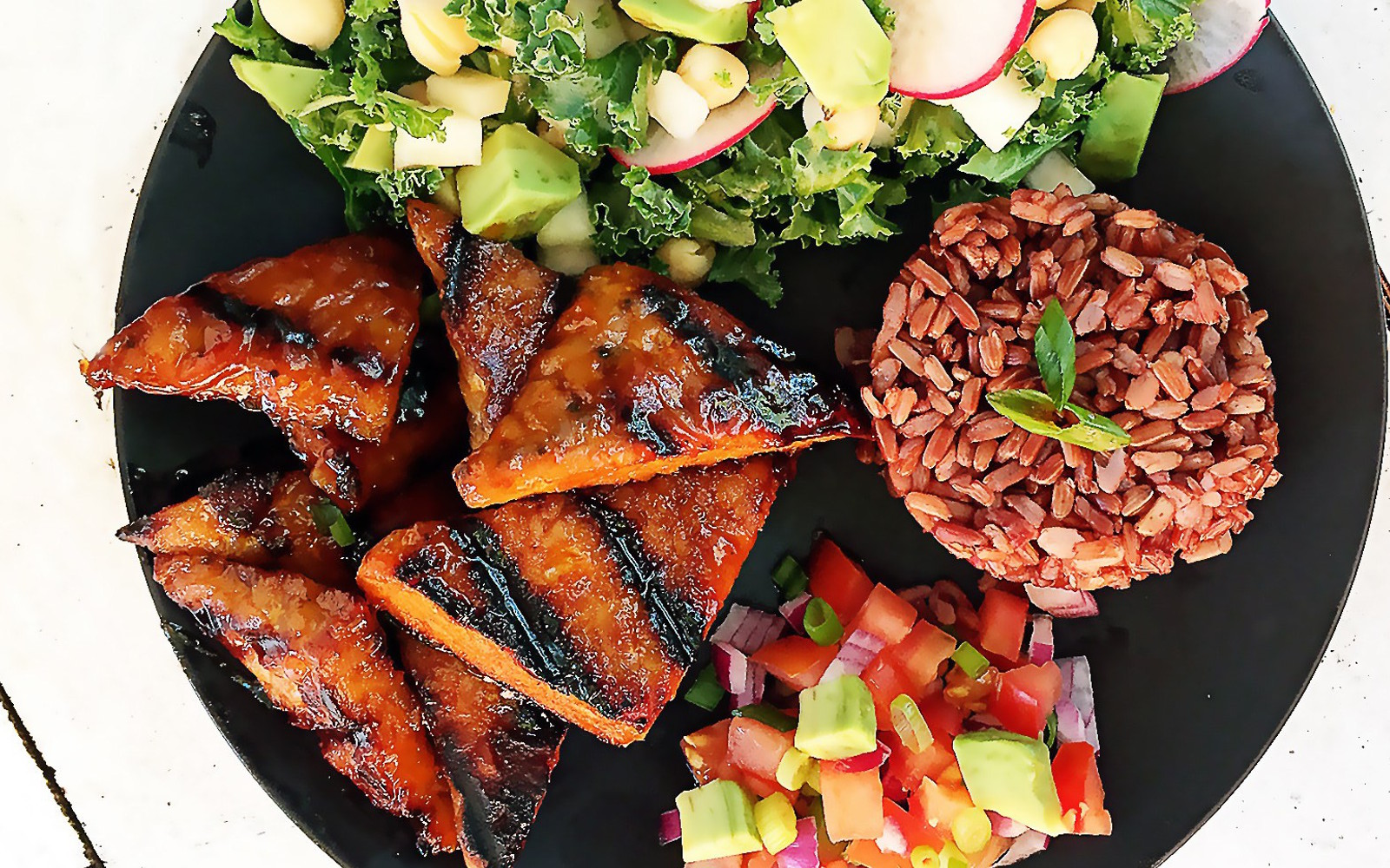 Grilled Tempeh With Filipino BBQ Sauce