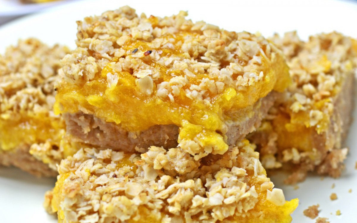 Homemade Apricot Cookie Bars