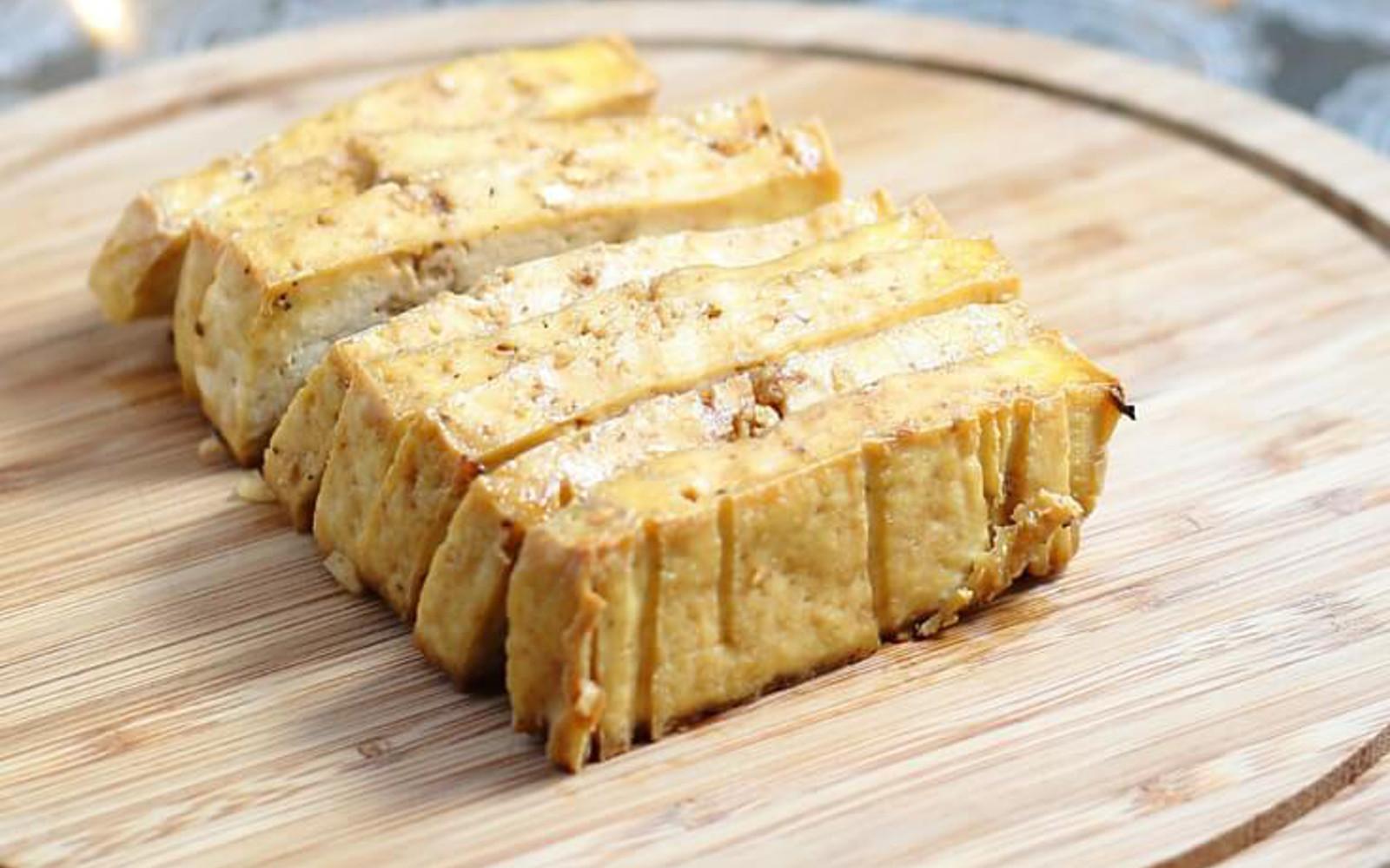 Maple-Glazed Tofu