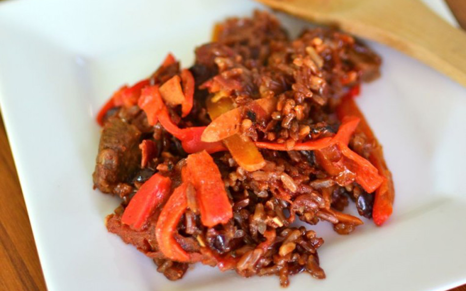 Moroccan Red Rice Paella