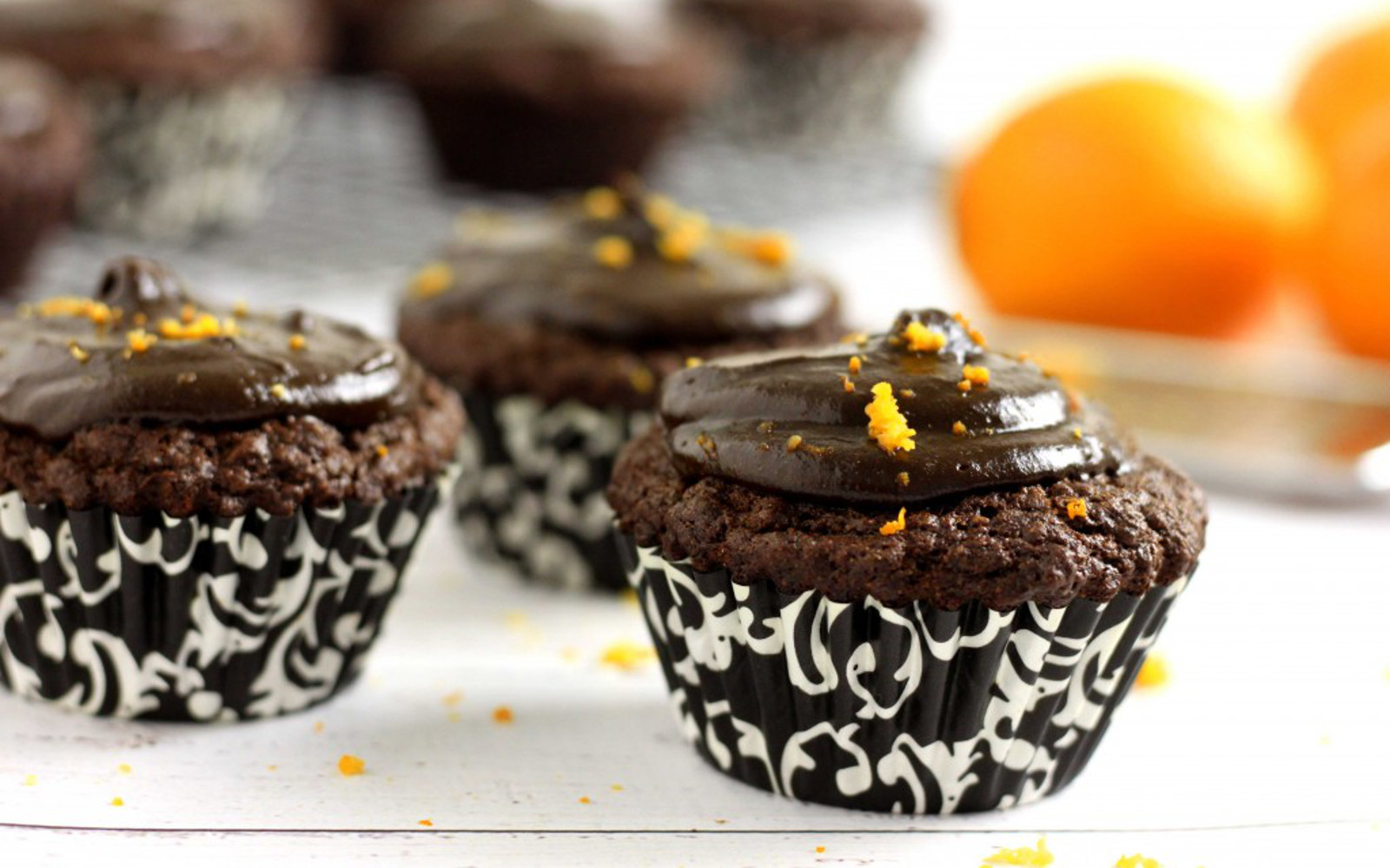 Orange-Ginger Cupcakes With a Spiced Date Frosting