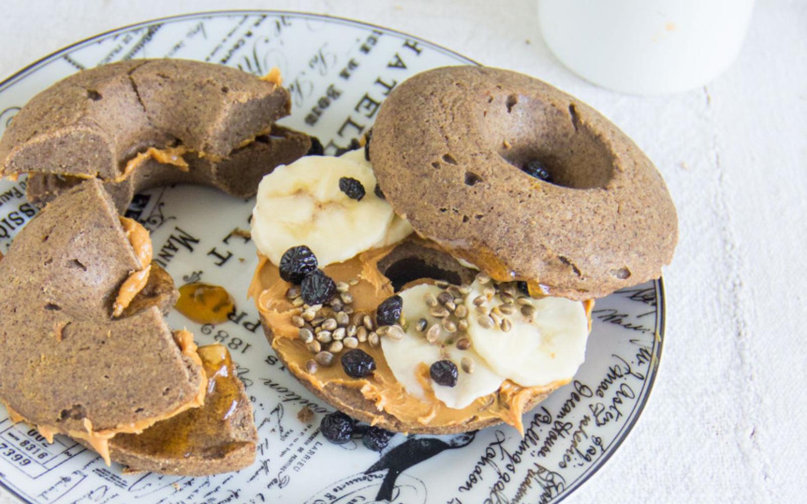 Buckwheat Breakfast Doughnuts