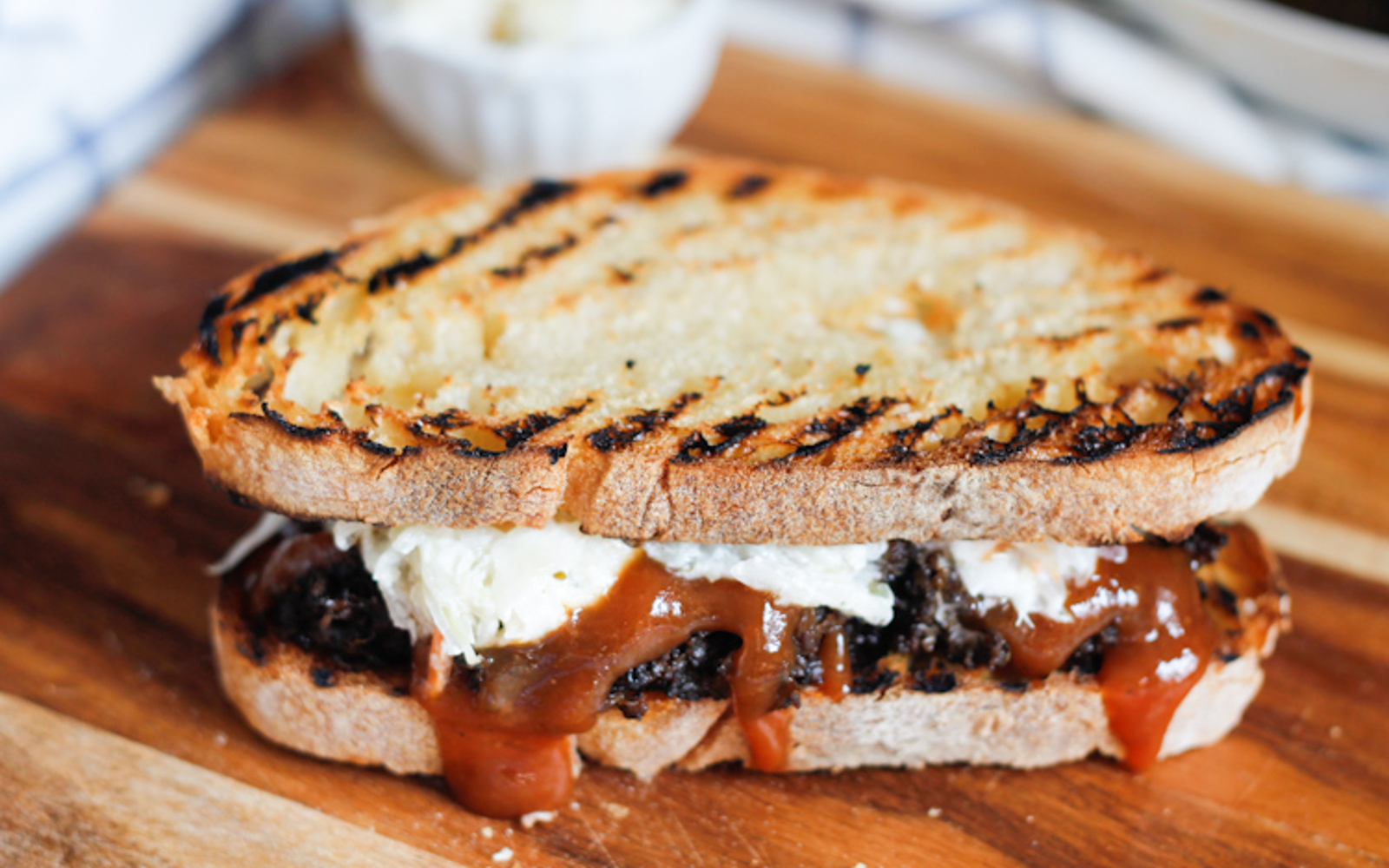 Southern-Style Pulled Mushroom Sandwich