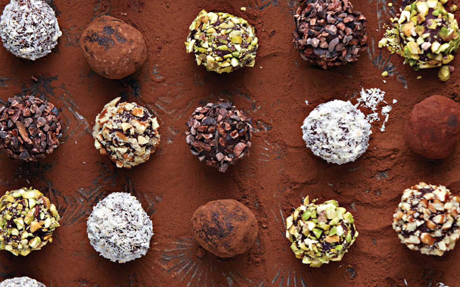 Bittersweet Chocolate Truffles