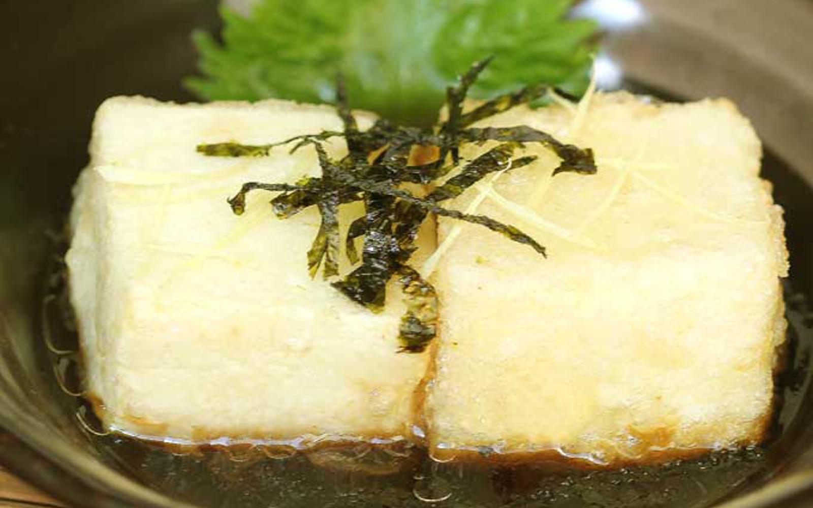 Japanese Deep-Fried Agedashi Tofu