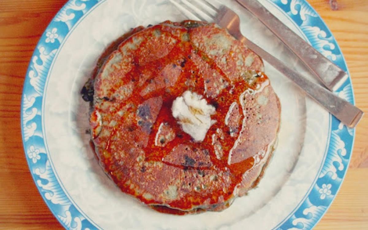 Cosmic Blueberry Pancakes
