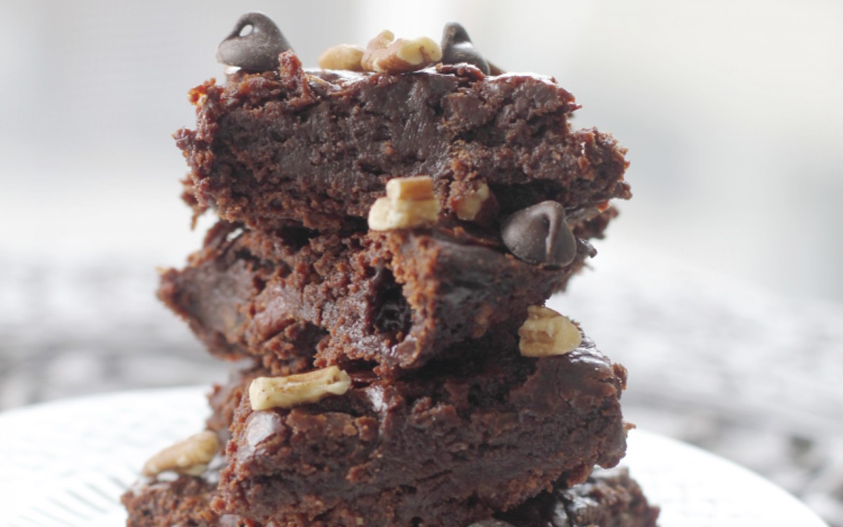 Decadent Chocolate Chip and Pecan Brownies