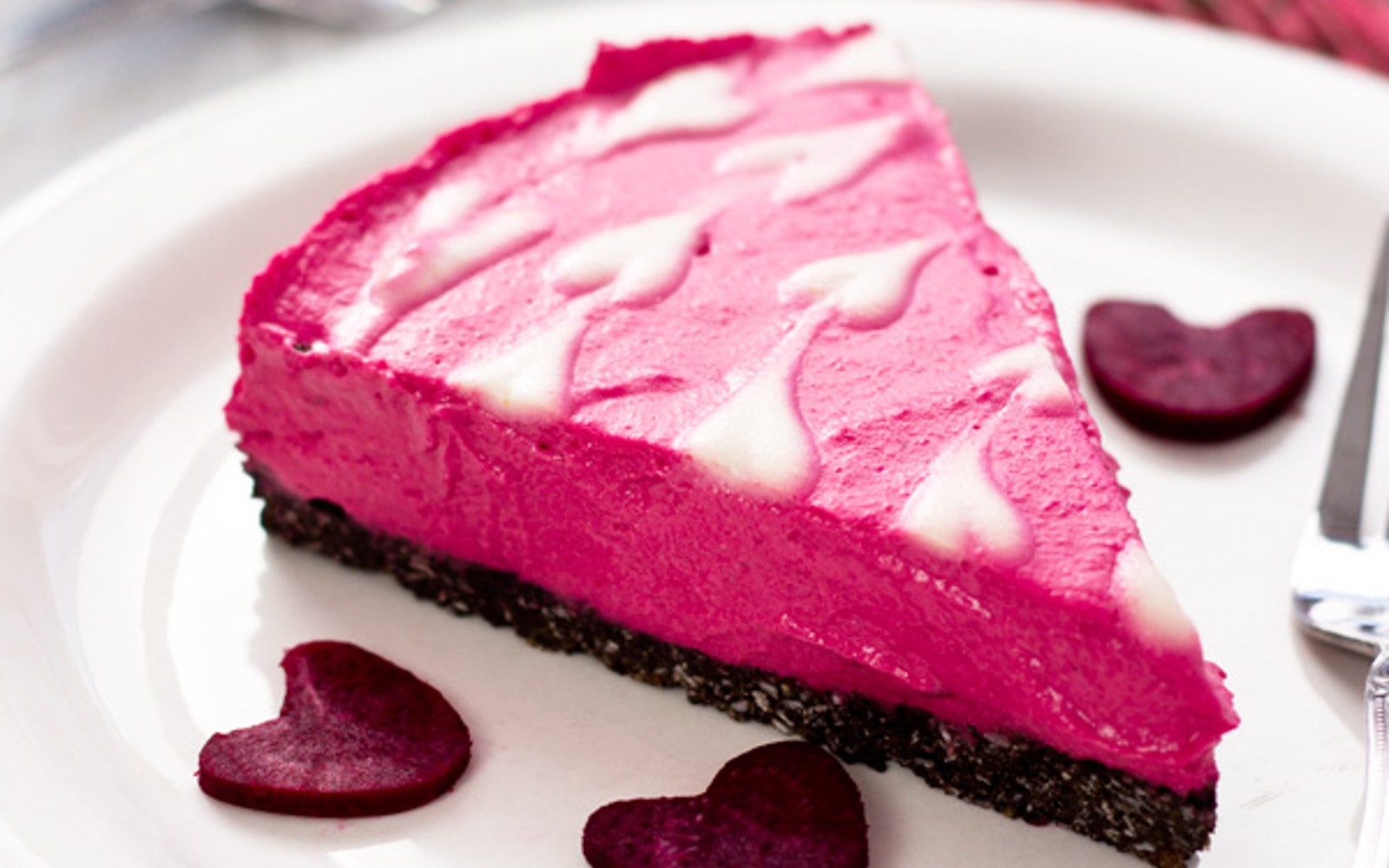Dreamy Yogurt Cheesecake on a Cocoa-Coconut Crust