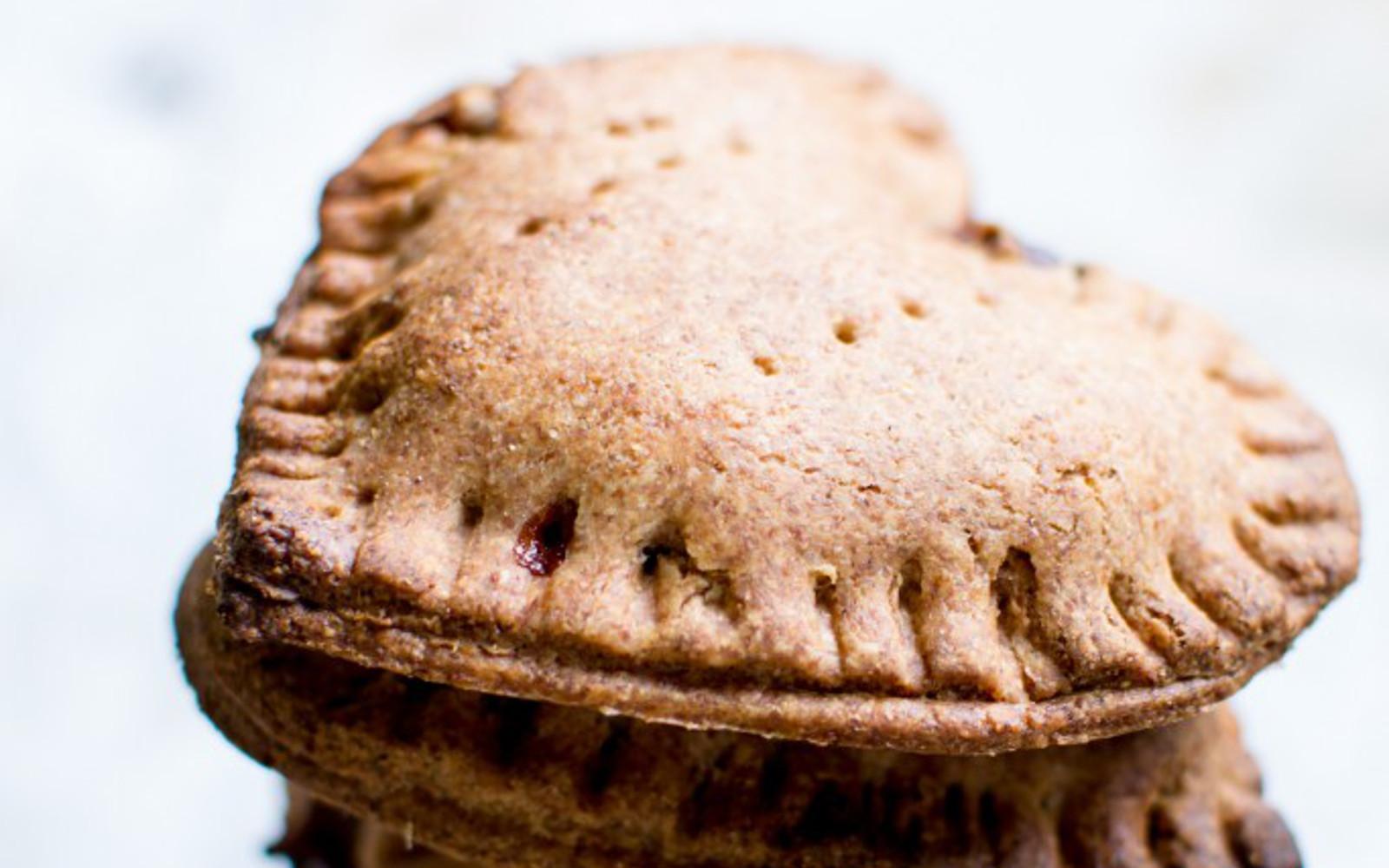 Apple and Pecan Spelt Pastry Pies
