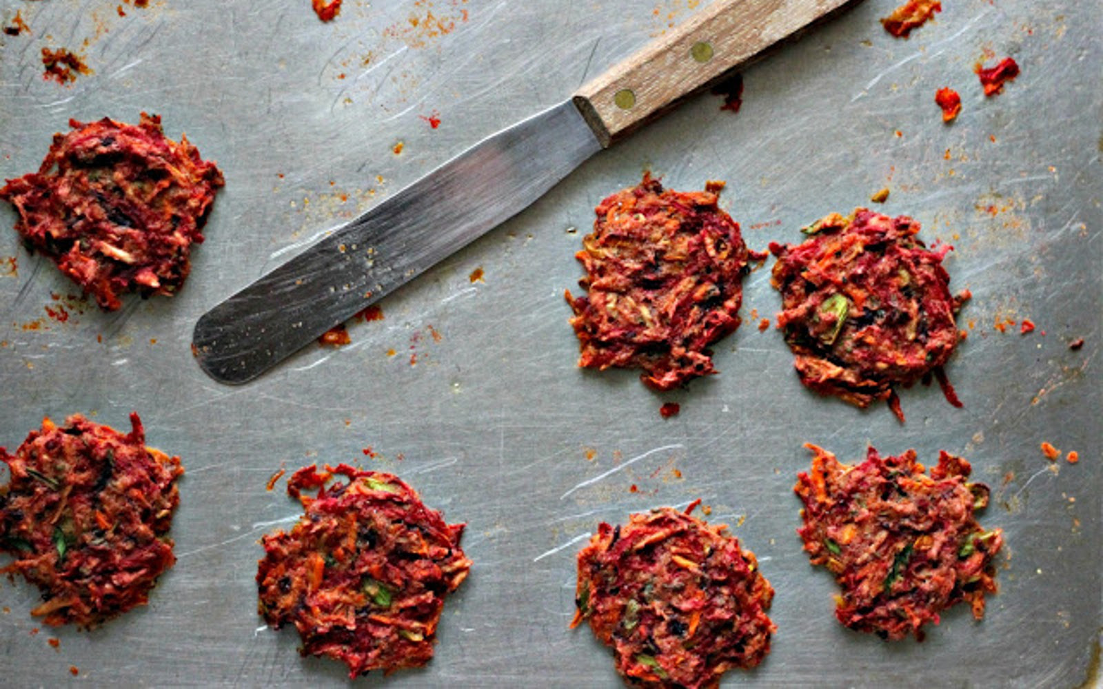 Baked Root Veggie Fritters