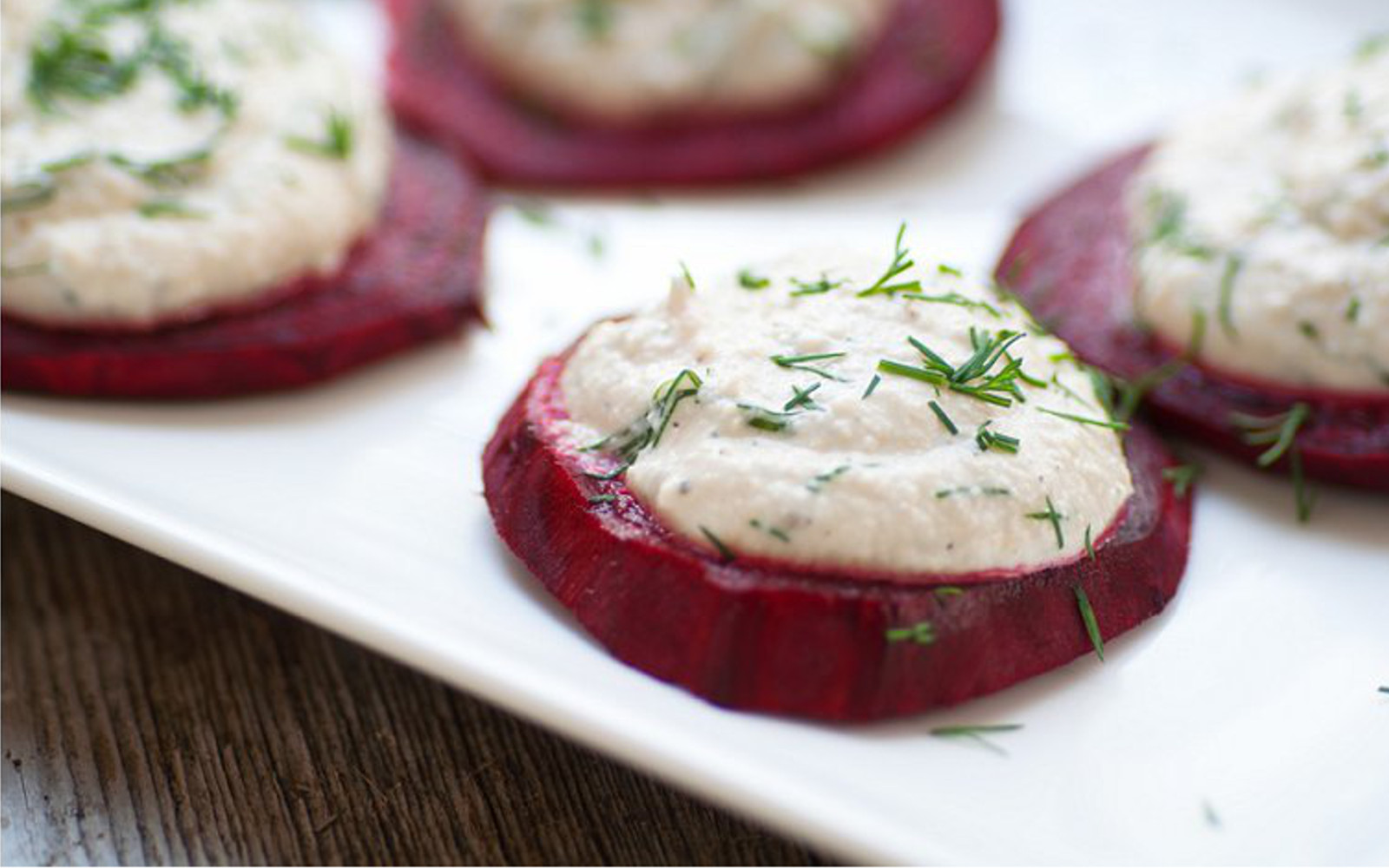 Beets With Dill Cheese
