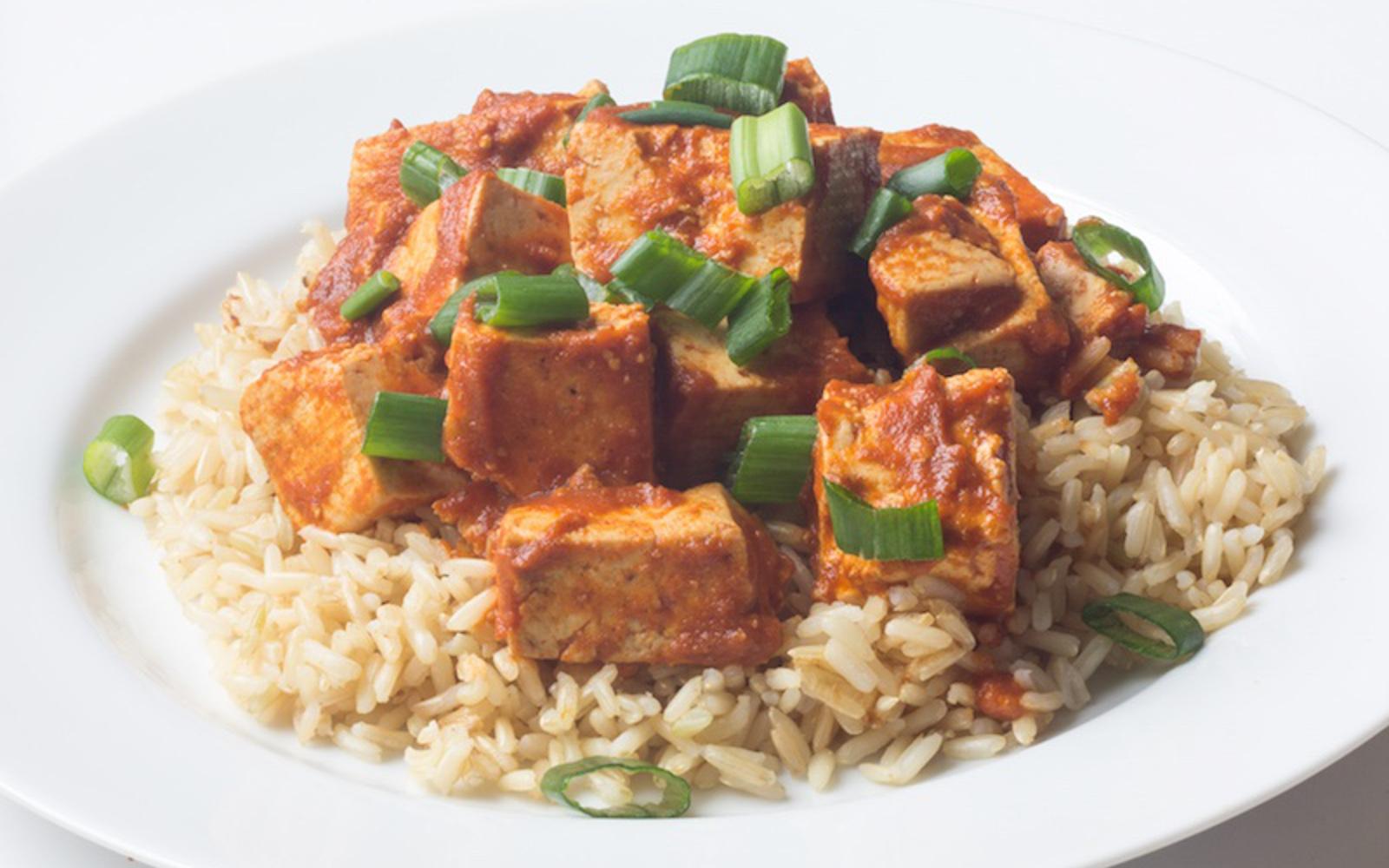 Braised BBQ Tofu