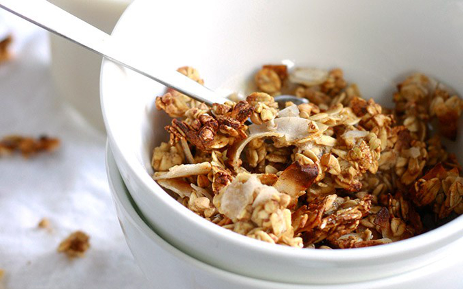 Caramelized Banana Granola