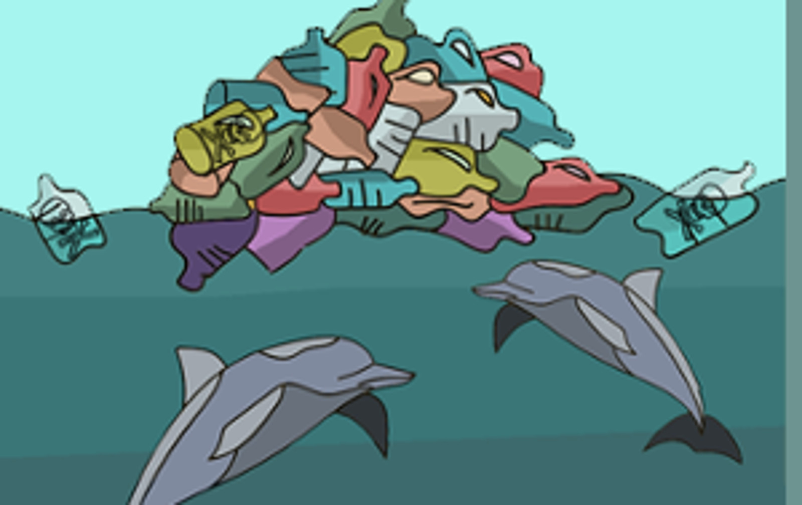 Stunning Infographic Shows How Our Plastic Habit Impacts the Ocean and Marine Animals