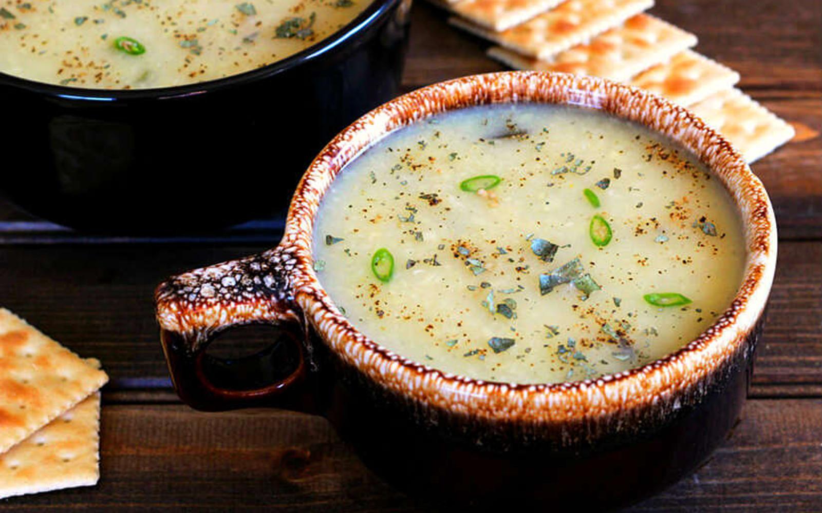 Moong Dal Soup: Indian Lentil Soup