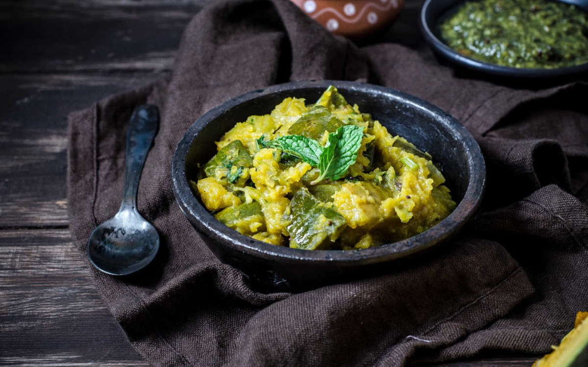 South Indian Mashed Pumpkin