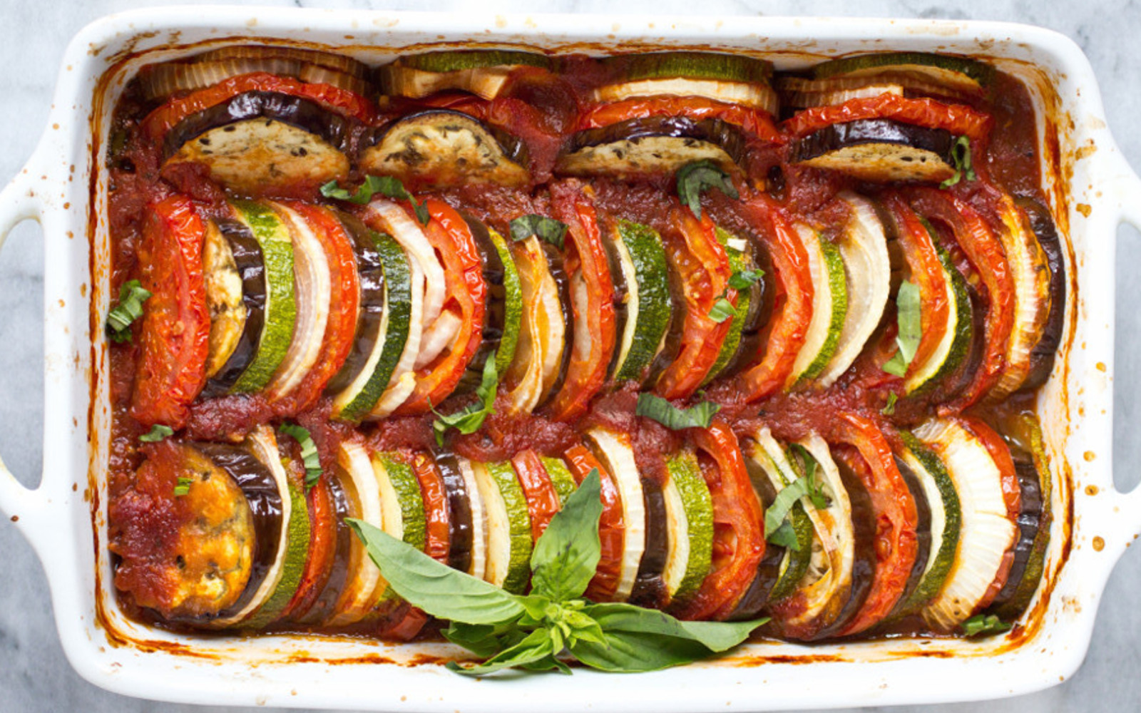 How To Make Perfect Ratatouille Vegan One Green Planet