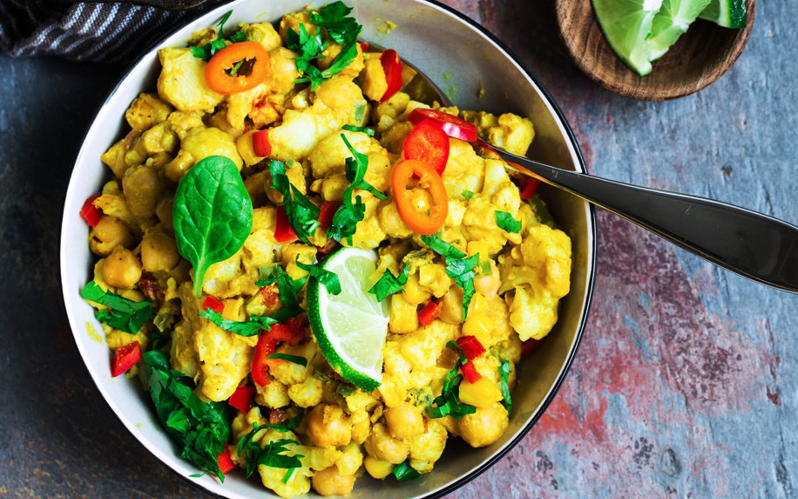 Spicy Cauliflower and Butternut Squash Gratin