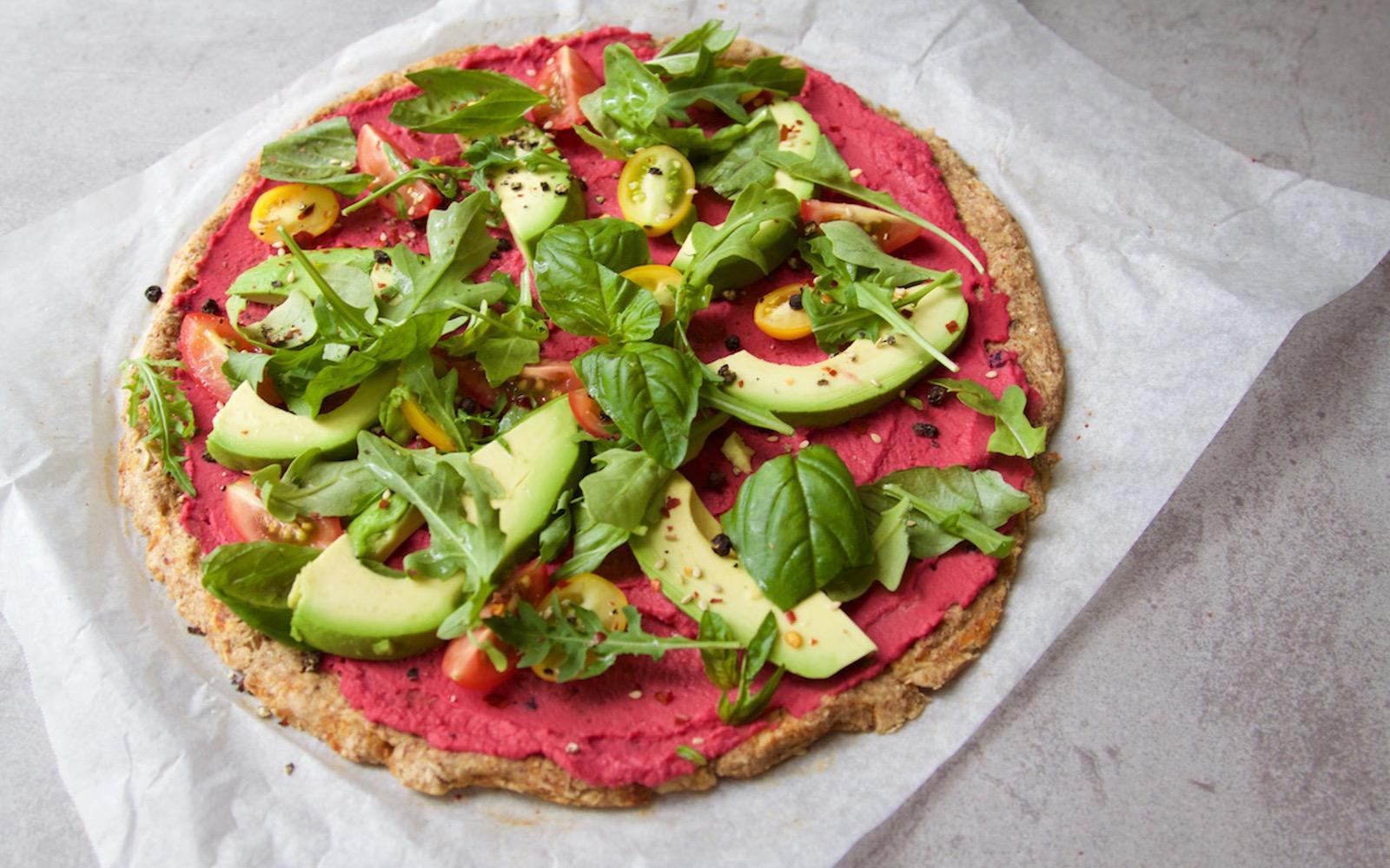 cauliflwoer crust pizza