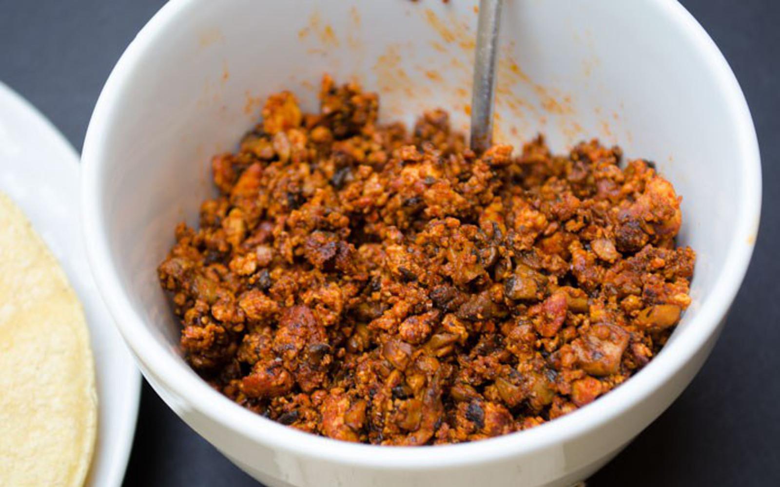 Homemade Chorizo Crumble