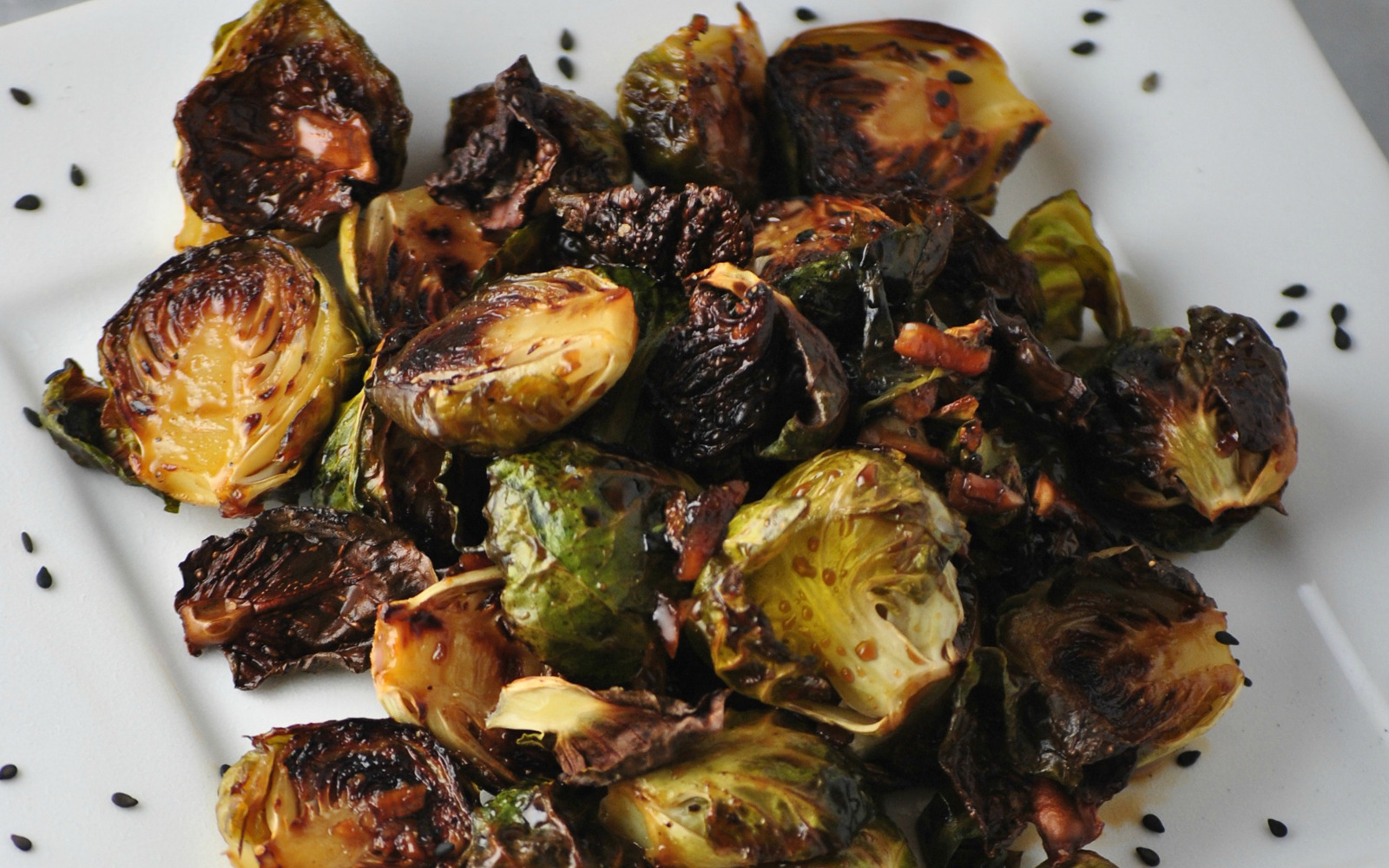 Korean BBQ Brussels Sprouts
