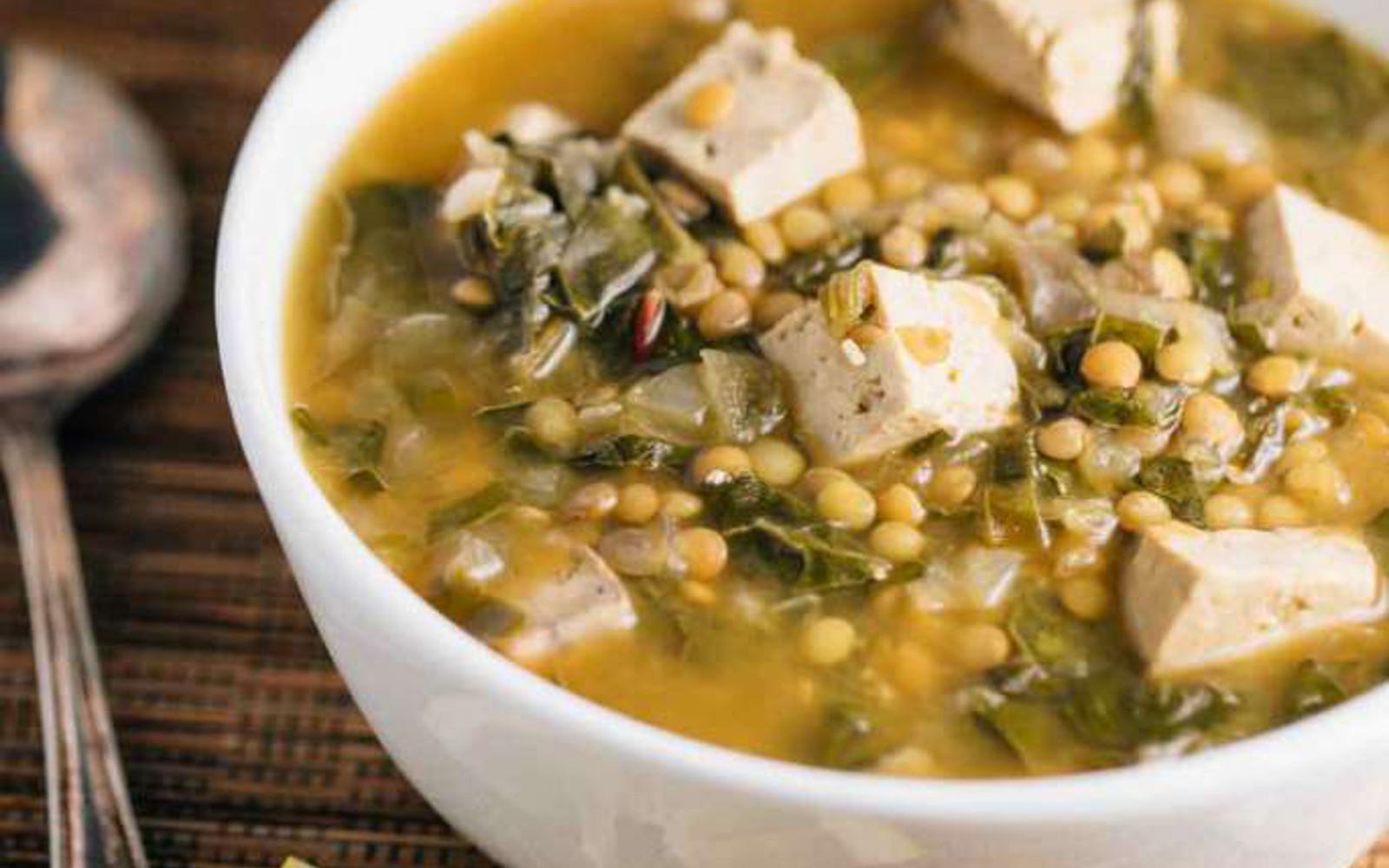 Slow-Cooker Lentil Miso Soup