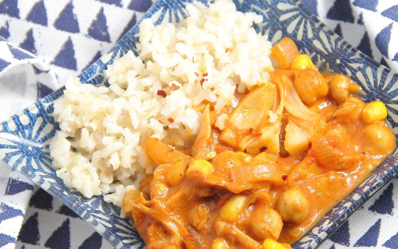 Pulled Jackfruit Curry