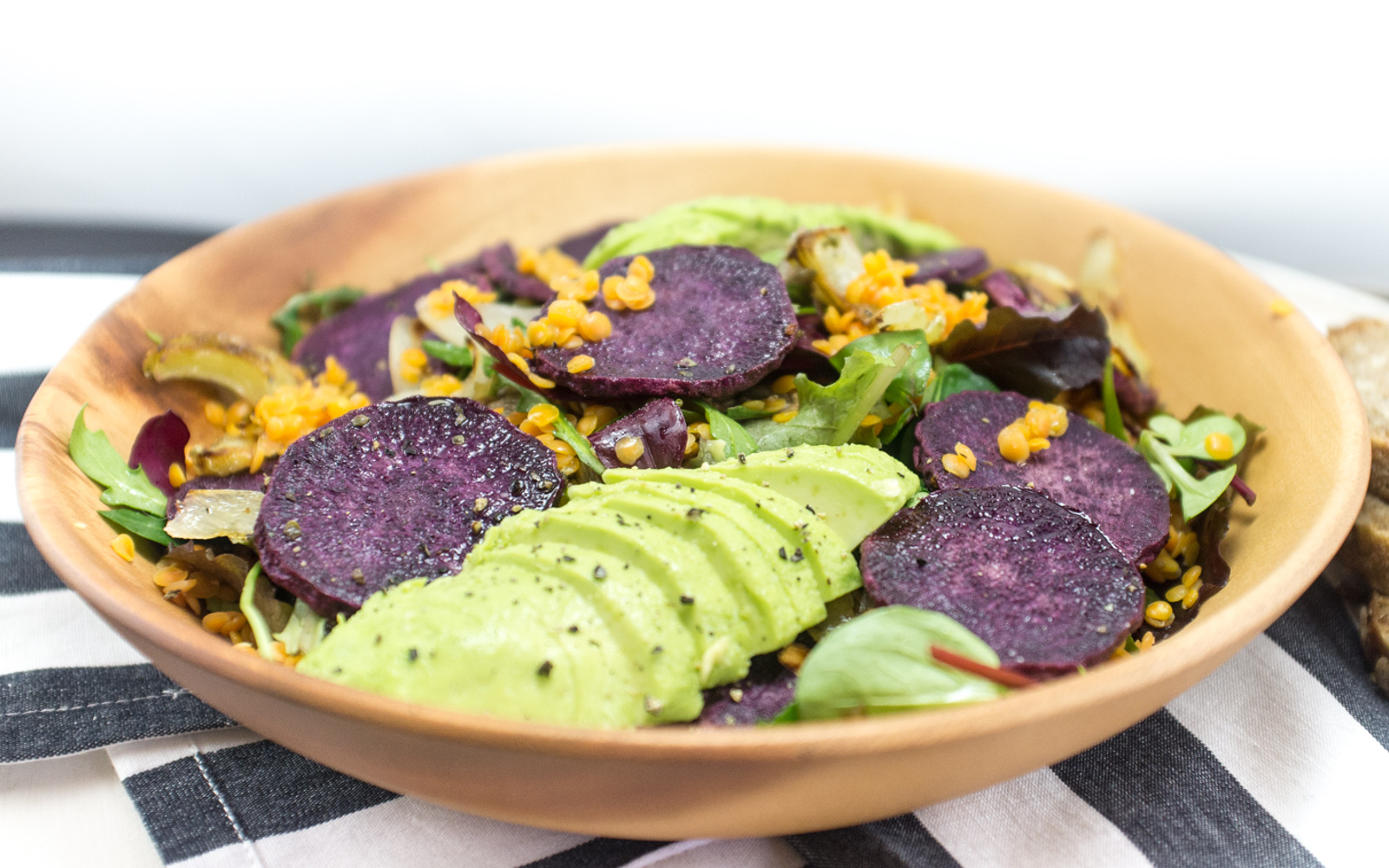 Warm Root Vegetable Salad